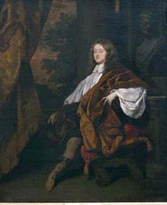 John Egerton, 2nd Earl of Bridgewater - John Egerton, 2nd Earl of Bridgwater by Peter Lely, 1665