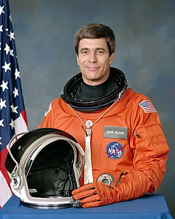 John E. Blaha American astronaut