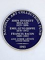 John Everett Millais 1829-1896, Emil Otto Hoppe 1878-1972, Francis Bacon 1909-1992 and other artists lived here.jpg