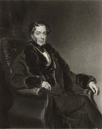 Lord Byron - John FitzGibbon, 2nd Earl of Clare