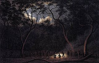 A Corroboree in Van Diemen's Land