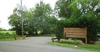 John Marshall Birthplace Park - Image: John Marshall Birthplace Park entrance
