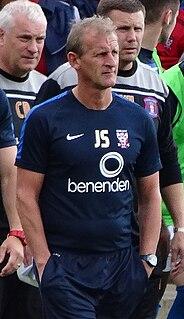 John Schofield (footballer) English professional football coach and former player