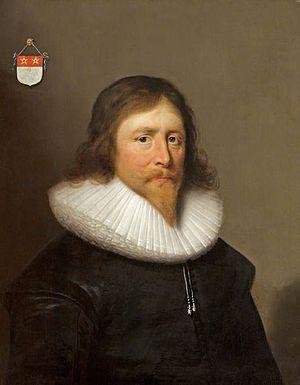 Sir John St John, 1st Baronet - John St John in 1631