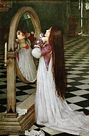 John William Waterhouse - Mariana in the South (1897).jpg