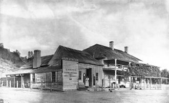 Jolon, California - Jolon stage station and store, ca.1900-1903