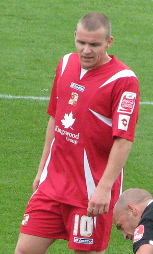 Jon-Paul McGovern - McGovern playing for Swindon Town in 2007