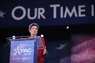 Joni Ernst - Ernst speaking at the Conservative Political Action Conference.