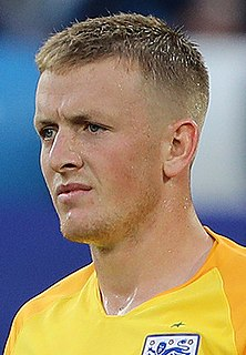 Jordan Pickford English association football player