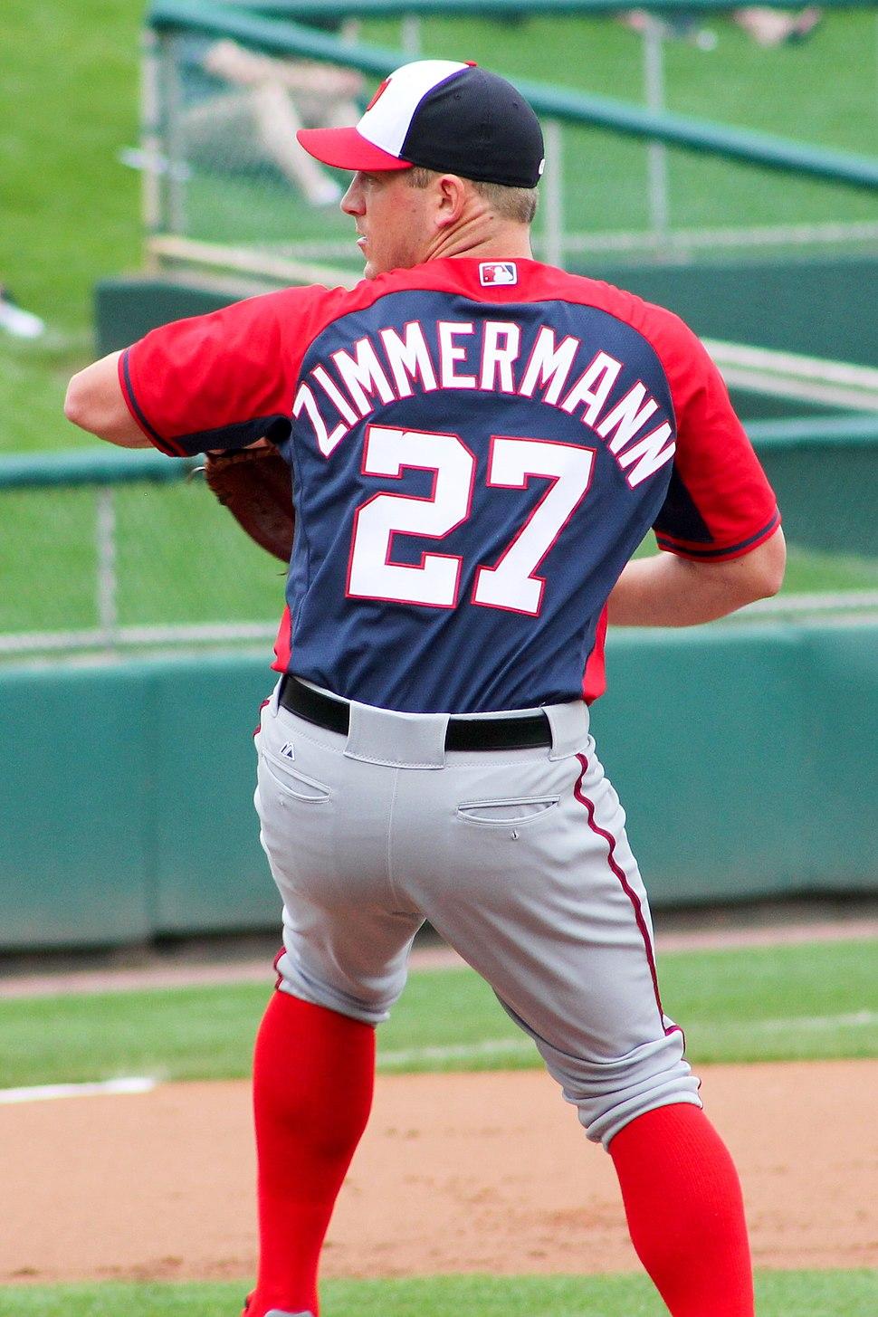 Jordan Zimmermann Nationals spring training March 2015