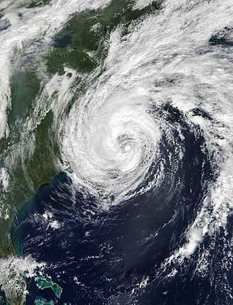 Hurricane Jose (2017) - Tropical Storm Jose off the United States East Coast on September 19