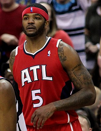 Josh Smith - Smith with the Hawks in March 2012