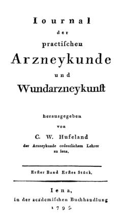Journal der practischen Heilkunde – Wikisource