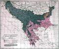 Jovan Cvijic 1918 Zones of civilization of the Balkan peninsula.tif
