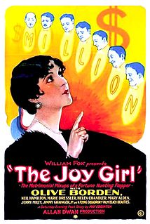 <i>The Joy Girl</i> 1927 film by Allan Dwan