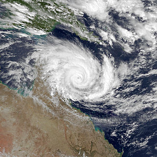 Cyclone Joy struck Australia in late 1990
