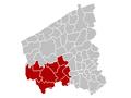 Judicial Arrondissement Ypres Belgium Map.PNG