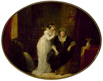 John Masey Wright - Image: Juliet and the Nurse (Wright, c. 1810s)