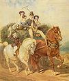 Juliusz Kossak Powrót z sianokosów 1854.jpg