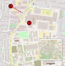 map of shooting 1 mcdonalds where the shooting started 2 olympia shopping mall