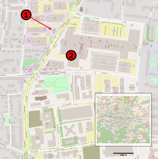 July2016-munich-shootings-map