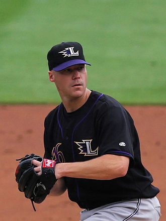 International League Most Valuable Pitcher Award - Justin Lehr, 2009 International League Most Valuable Pitcher