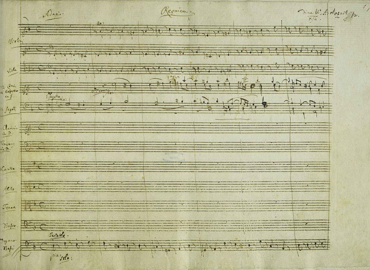 Requiem (Mozart) - Wikipedia