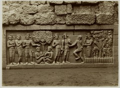 KITLV 28054 - Kassian Céphas - Relief of the hidden base of Borobudur - 1890-1891.tif