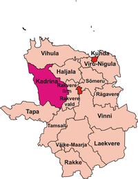 Kadrina vald location.png
