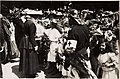 Kaiser Karl I. und Kaiserin Zita auf der letzten Station in Bregenz, während der Frontreise Kaiser Karls des I. vom 1. Juni 1917 bis zum 6. Juni 1917 an die Isonzofront, Istrien, Kärnten und Vorarlber (BildID 15565548).jpg