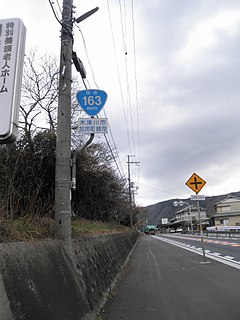 Japan National Route 163
