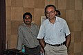 Kanchan Kumar Chowdhury Skyping With Natalie Batalha - Professional Enrichment Programme On Astronomy Awareness - NCSM - Kolkata 2011-09-20 5381.JPG