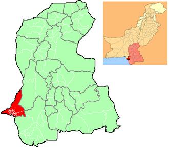 2009 Karachi floods - Image: Karachi Locator Sindh Pakistan