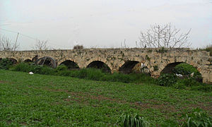 Anchiale - Karadıvar aqueduct in Mersin, Turkey