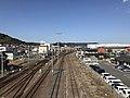 Karatsu Rail Yard from Rifurebashi Bridge 2.jpg