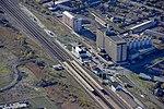 Karcagi vasútállomás a magasból.jpg