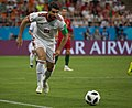 Karim Ansarifard at IRNPOR match 2018 FIFA World Cup.jpg