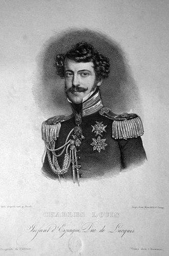 Charles II, Duke of Parma - Image: Karl II Ludwig
