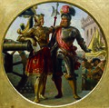 Karl von Blaas - Kaiser Maximilian I. und Georg von Frundsberg - 2725 - Kunsthistorisches Museum.jpg