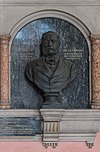 Karl von Littrow (1811-1877), Nr 96 bust (bronze) in the Arkadenhof of the University of Vienna-2380-HDR.jpg