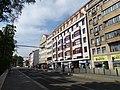 Karlovo náměstí, zastávka Moráň, budova KDU-ČSL.jpg