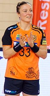 Katarina Krpež Šlezak Serbian handball player