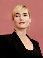 Photo of Kate Winslet at the 2011 Venice Film Festival.