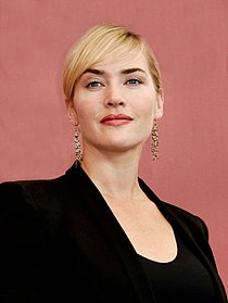 A photograph of Kate winslet attending the Venice Film Festival