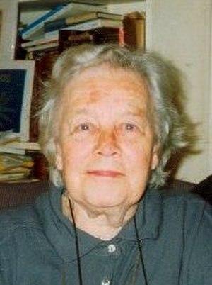 2003 in poetry - English poet Kathleen Jessie Raine