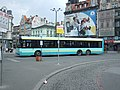 Katowice, Plac Wilhelma Szewczyka, autobus Solaris.JPG