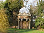 Gazebo and Garden Wall at Kelham Hall