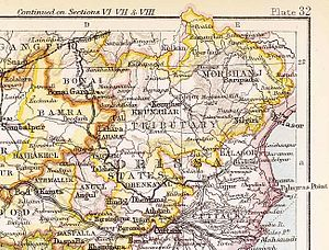 Nilgiri State - Nilgiri State in the Imperial Gazetteer of India