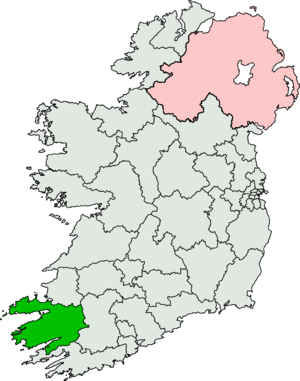 Kerry South (Dáil Éireann constituency) - Image: Kerry South (Dáil Éireann constituency)