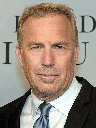 Kevin Costner, American actor, singer, musician, producer, director, and businessman